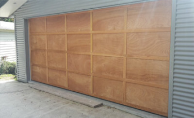 Ply & Batten Cedar Doors